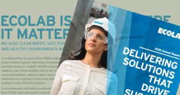 Ecolab: Annual Report 2018