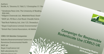 CRRU: UK Rodenticide Stewardship Annual Report 2019