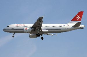 Air Malta plane