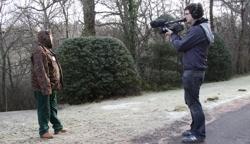 Filming Paul Parker