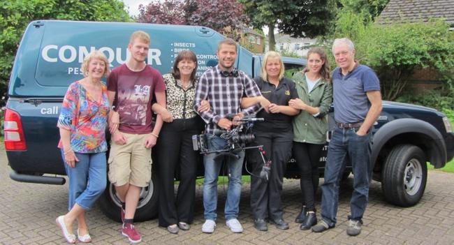 Ladykillers film shoot