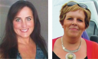 Liz Webb & Hayley Fellows