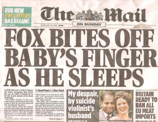 Mail on Sunday - 10 Feb 2013