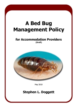 Bed bug code accommodation providers