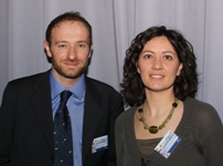 Dario Capizzi and Sara Savoldelli