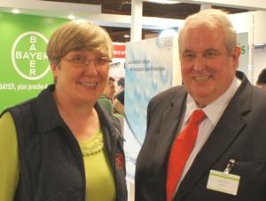 Helen with Jonathan