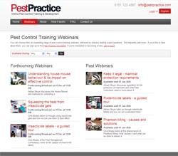Pest Practice web page