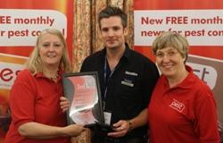 Pest award - third
