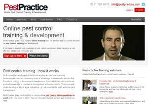 PestPractice front page