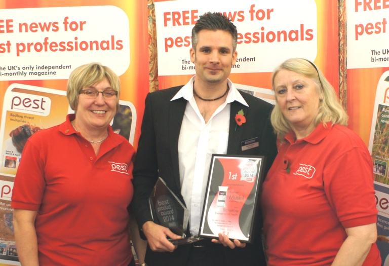 Pest award winner