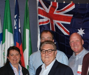 Australian delegates
