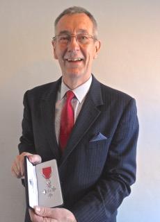 Stephen battersby MBE