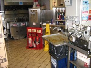 KFC kitchen