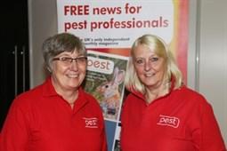 Frances & Helen at PestTech 2019