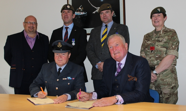 Busters armed forces covenant