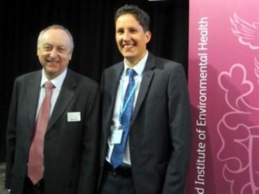 CIEH Conference Graham Jukes Jolyon Medlock