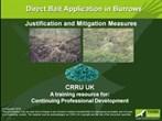 CRRU burrow baiting presentation