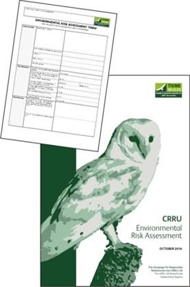 Environmental Risk Assessment items