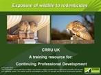 CRRU wildlife exposure presentation