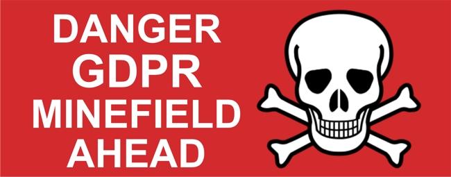 GDPR minefield