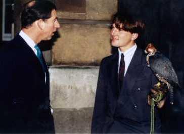 Nbc John Dickson With Prince Charles Princes Trust 2