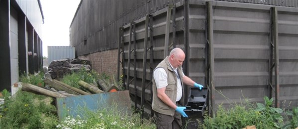 On farm rodent control