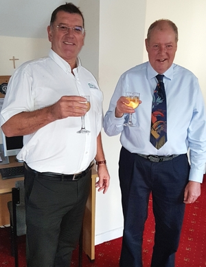 Paul Bates and Howard Taffs