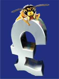 WaspBane £ sign