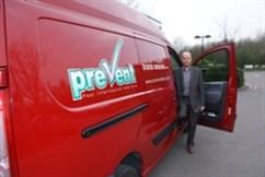 Pest managers academy Rickie's van