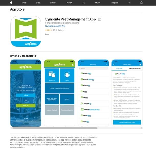 Syngenta app
