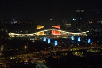 Web Shenzhen Light Show