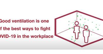 Having good ventilation will help reduce COVID-19 transmission at work