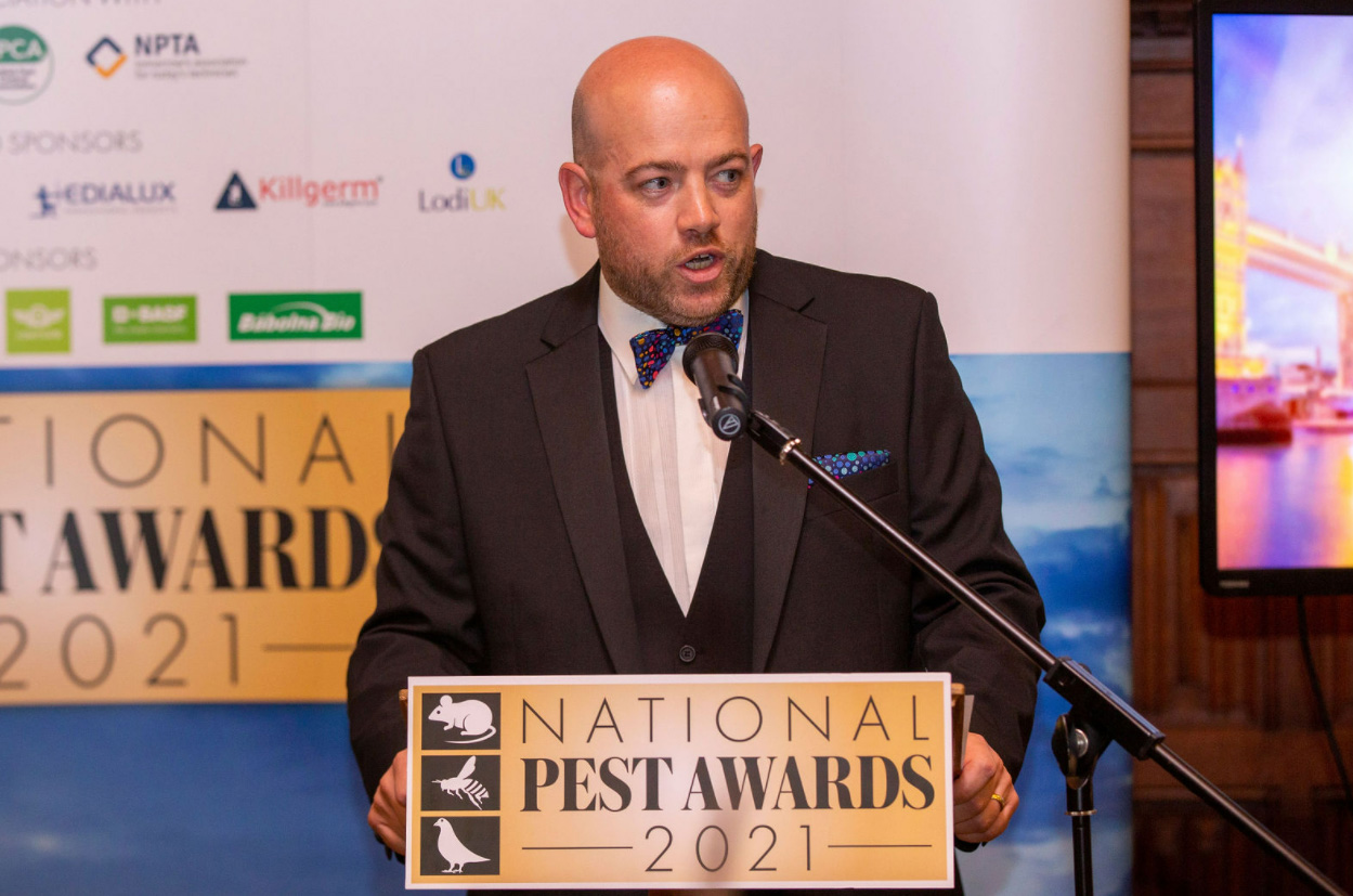 """Pest magazine Publisher Simon Lewis said """"The awards were a great success and I'm sure there'll be a few sore heads around the industry this morning. Congratulations to the winners and thank you to the sponsors who made the event possible. We look forward to the 2022 instalment of the National Pest Awards"""""""